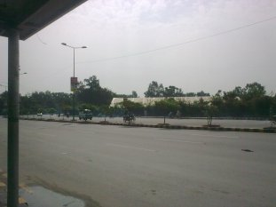 morning view in lahore